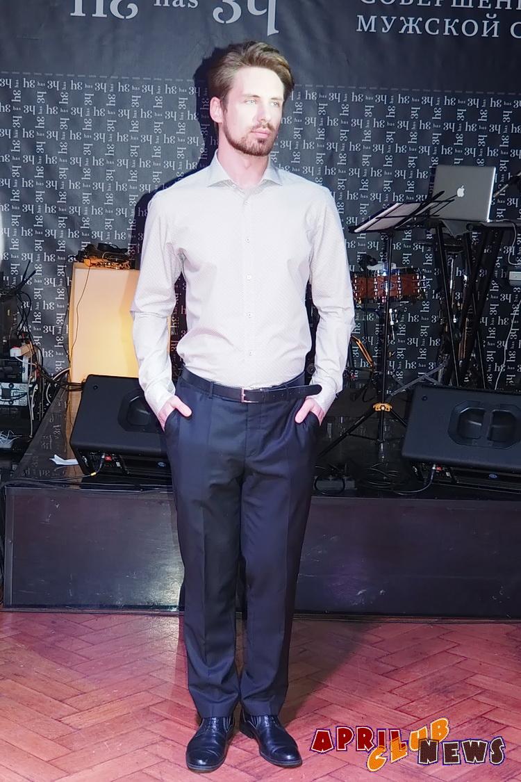 Презентация бренда мужских сорочек He has 34