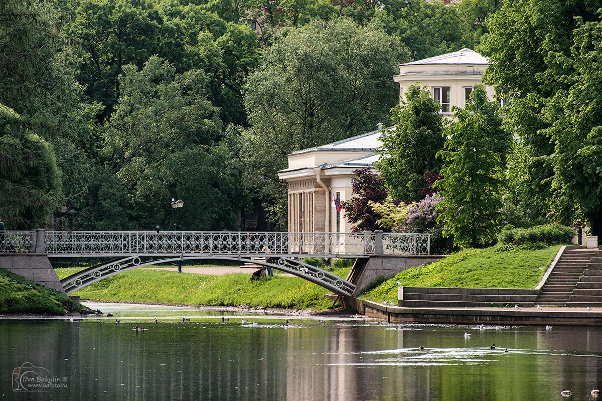 Таврический парк и дворец