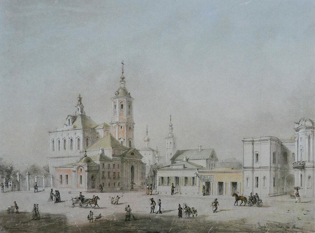 458759 Вид части улицы Покровки И. И. Шарлемань 1854.jpg