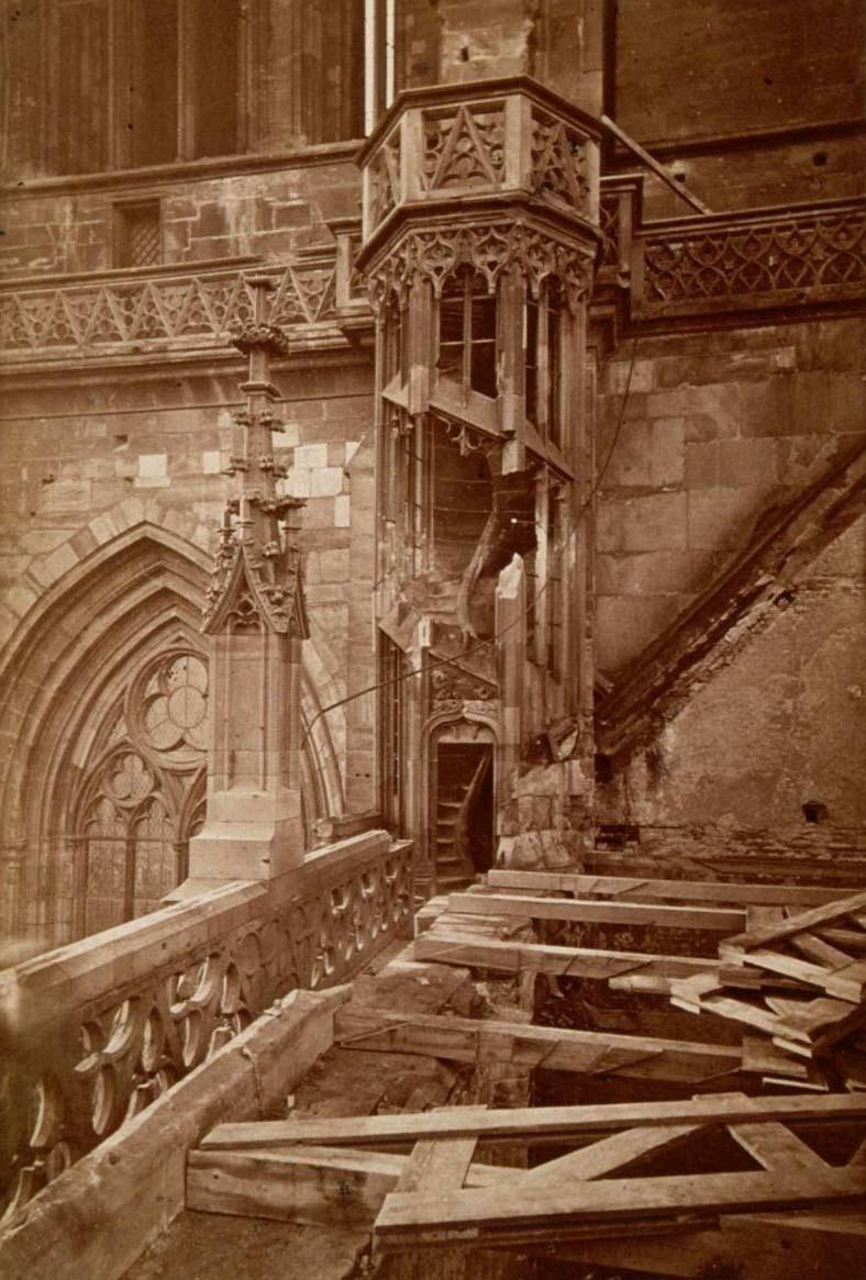 Страсбургский собор. Разрушения