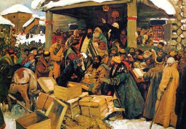 Русский бунт,  осмысленный и пощадный.