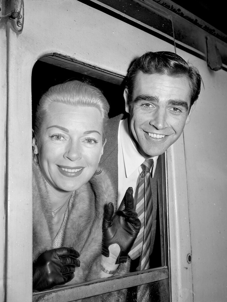 Sean Connery and Lana Turner