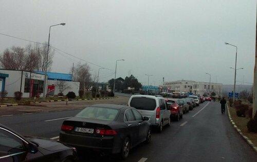 Ожидание в очереди на молдавской таможне достигает 4 часов