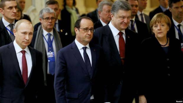 """Первым на встречу прибыл Порошенко: В Берлине начались переговоры лидеров стран """"нормандской четверки"""""""
