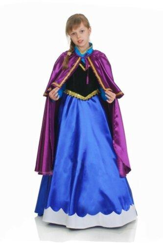 Детский карнавальный костюм Анна из Холодного сердца
