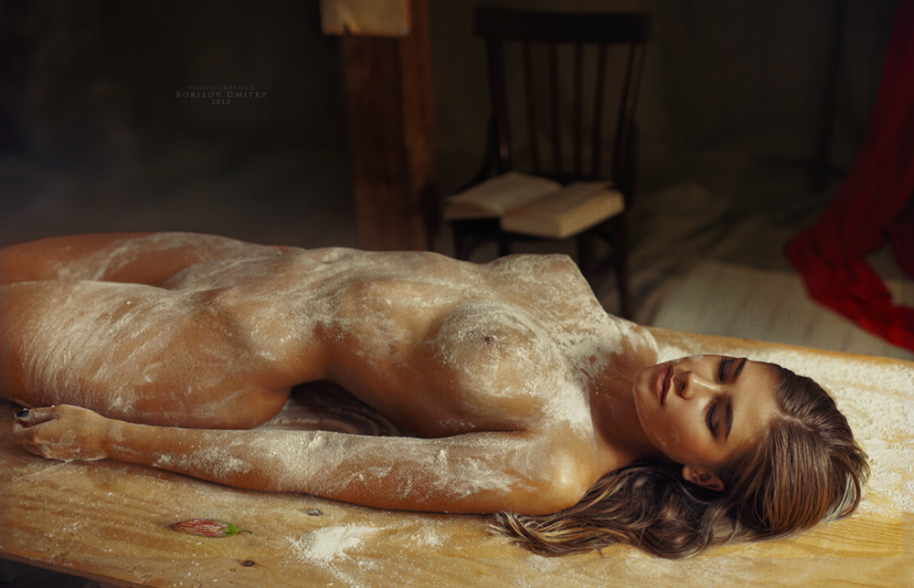 Девушки и еда / Фото Дмитрий Борисов Dmitry Borisov