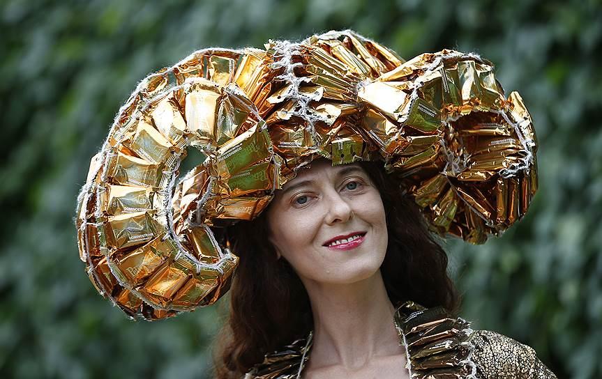 «День леди»: парад шляпок на скачках Royal Ascot 2016 0 165a38 401eae80 orig