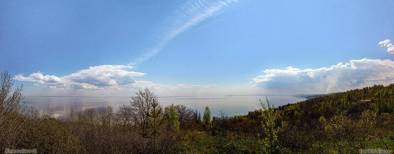Пейзаж, река Волга