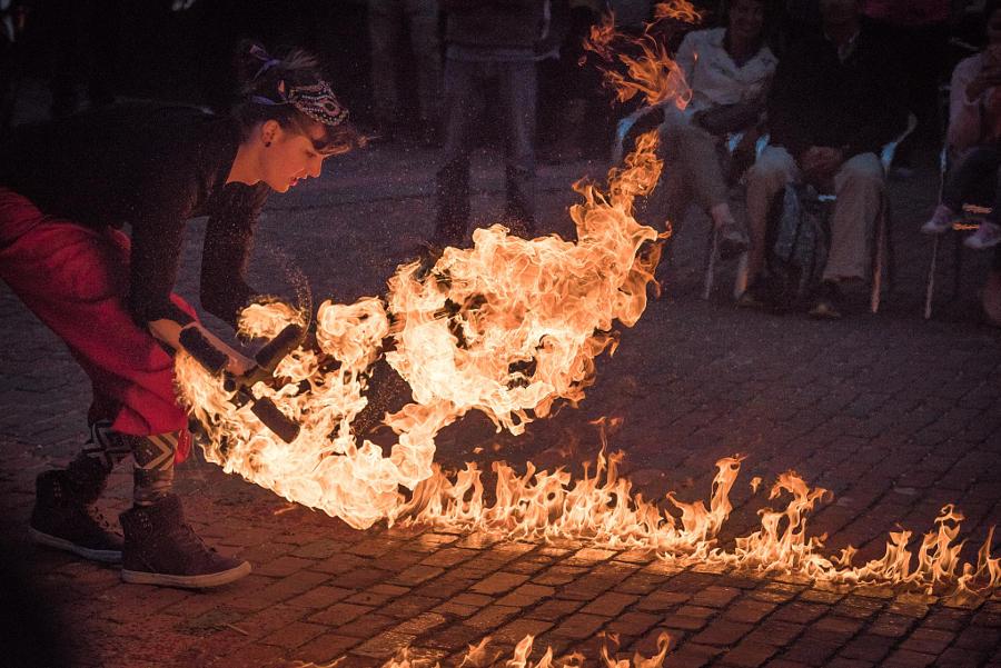 18. Мощь огня. Автор фото: Евгений Чеботарев