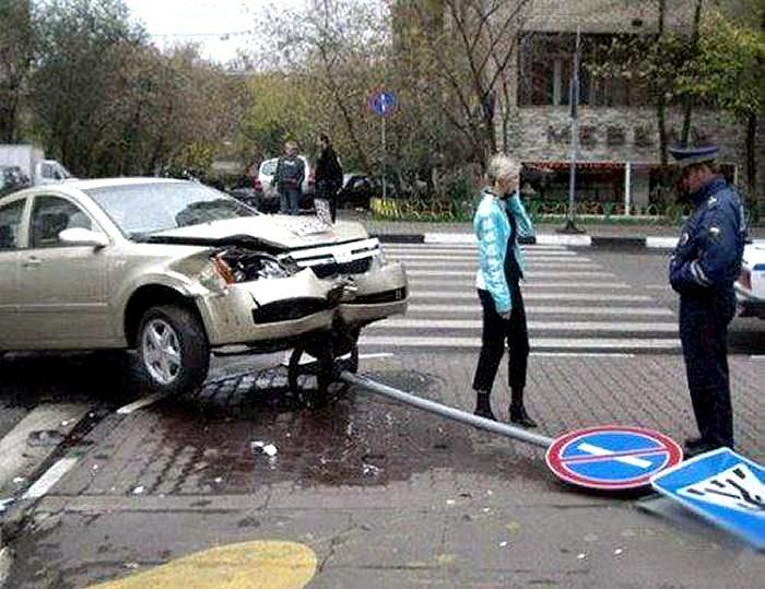 Да уж, чего только не увидишь на дорогах