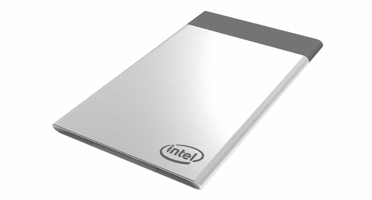 Модульная вычислительная платформа Compute Card имеет размеры, сравнимые с банковской картой, &ndash