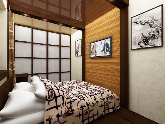 Интерьер в японском стиле. Интерьер спальни в японском стиле – простой и уютный одновременно.