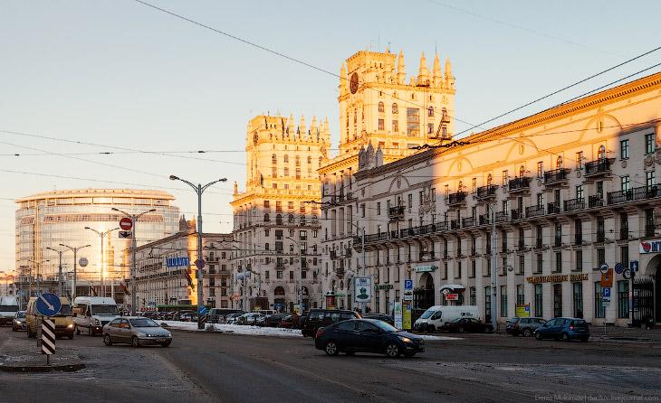 Фотографии и текст Дениса Мукимова   1. Такая архитектура оставляет сильное впечатление с пе