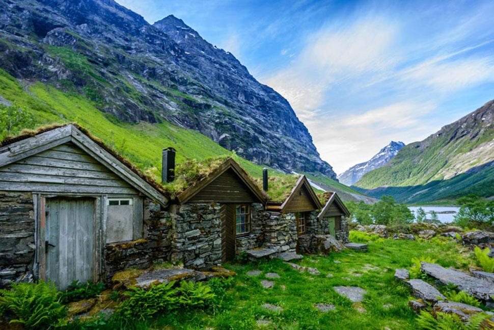 Геирангер, Норвегия.