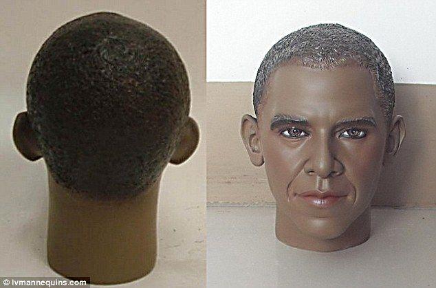 Популярность американского президента обрела новую грань. Теперь он используется в качестве манекена