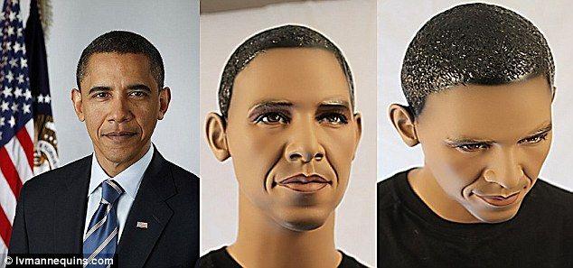 Обама стал манекеном