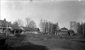 Окрестности Рыбинска. Помещичий дом в деревне Переборы. 1917