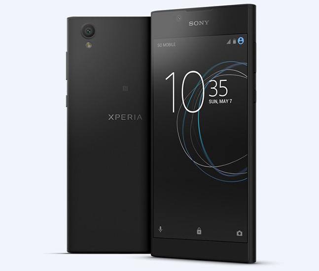 Сони  представила общедоступный  смартфон Xperia L1