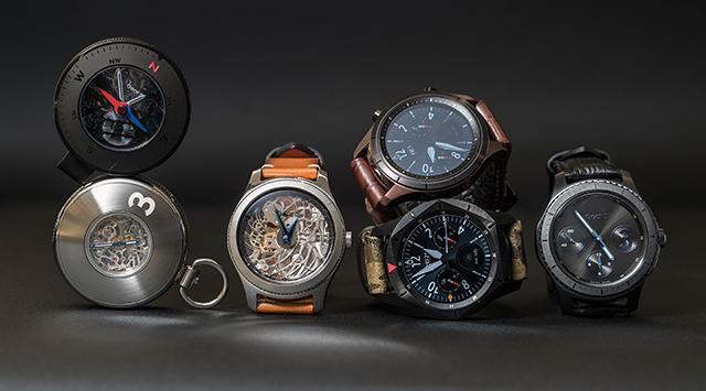 Самсунг презентовала новые концепт-версии часов Gear S3