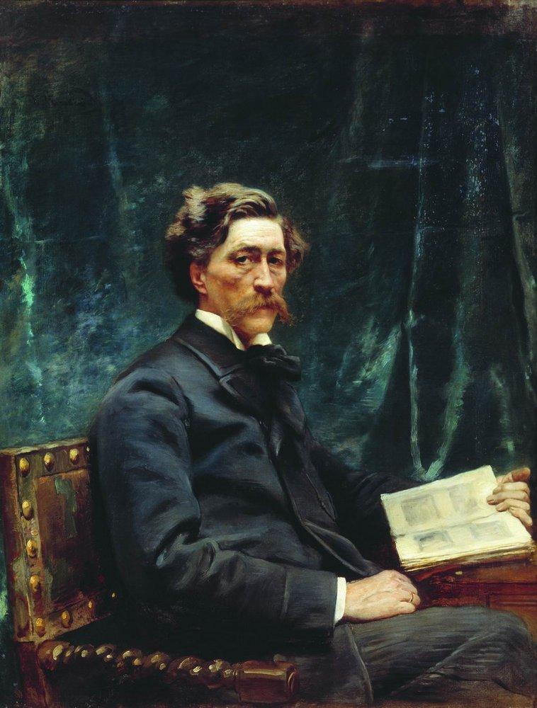 Маковский Константин Егорович(1839-1915) Портрет С.Н.Худекова. 1890-е