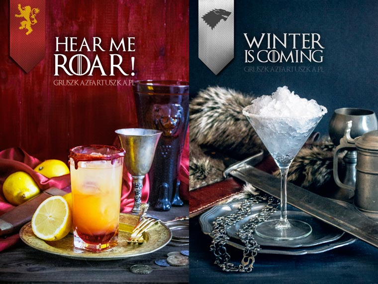 Game of Thrones - Creative cocktails inspired by the cult series