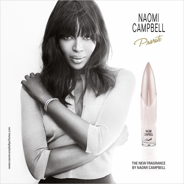 The legendary British supermodel Naomi Campbell introduces the new perfume in her fragrance line nam