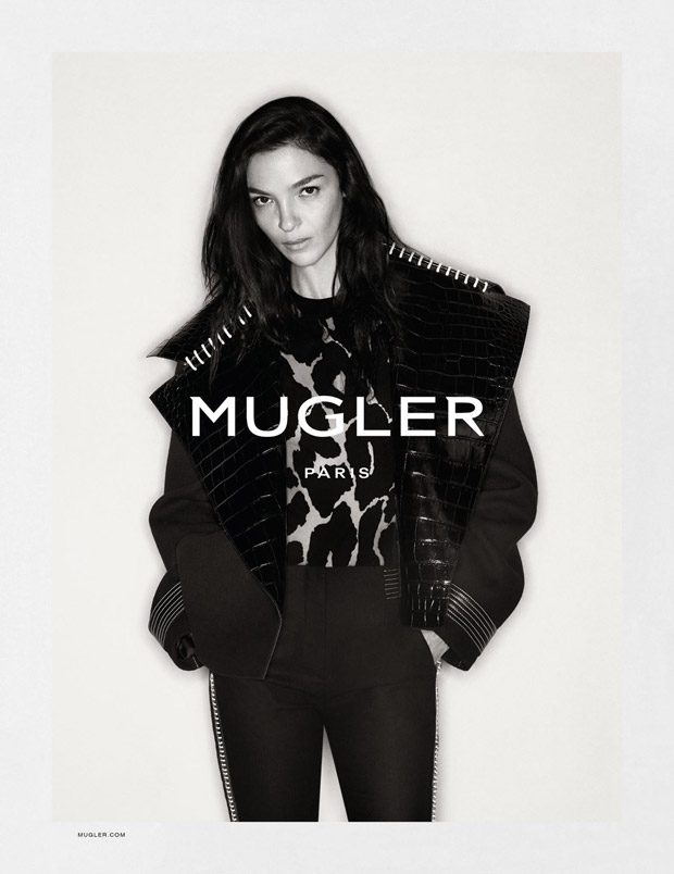 Mariacarla Boscono Stars in Mugler Fall Winter 2016.17 Campaign (7 pics)