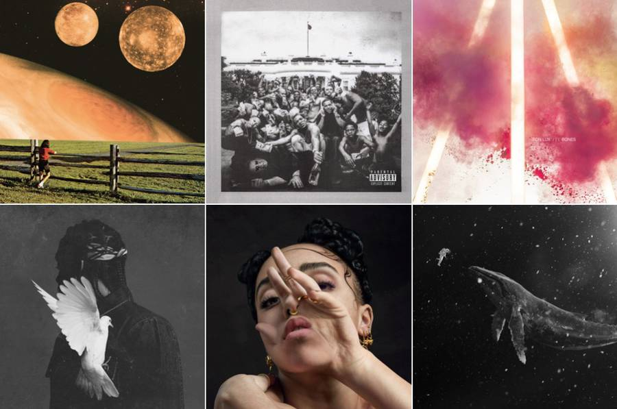Best Album Covers of 2015