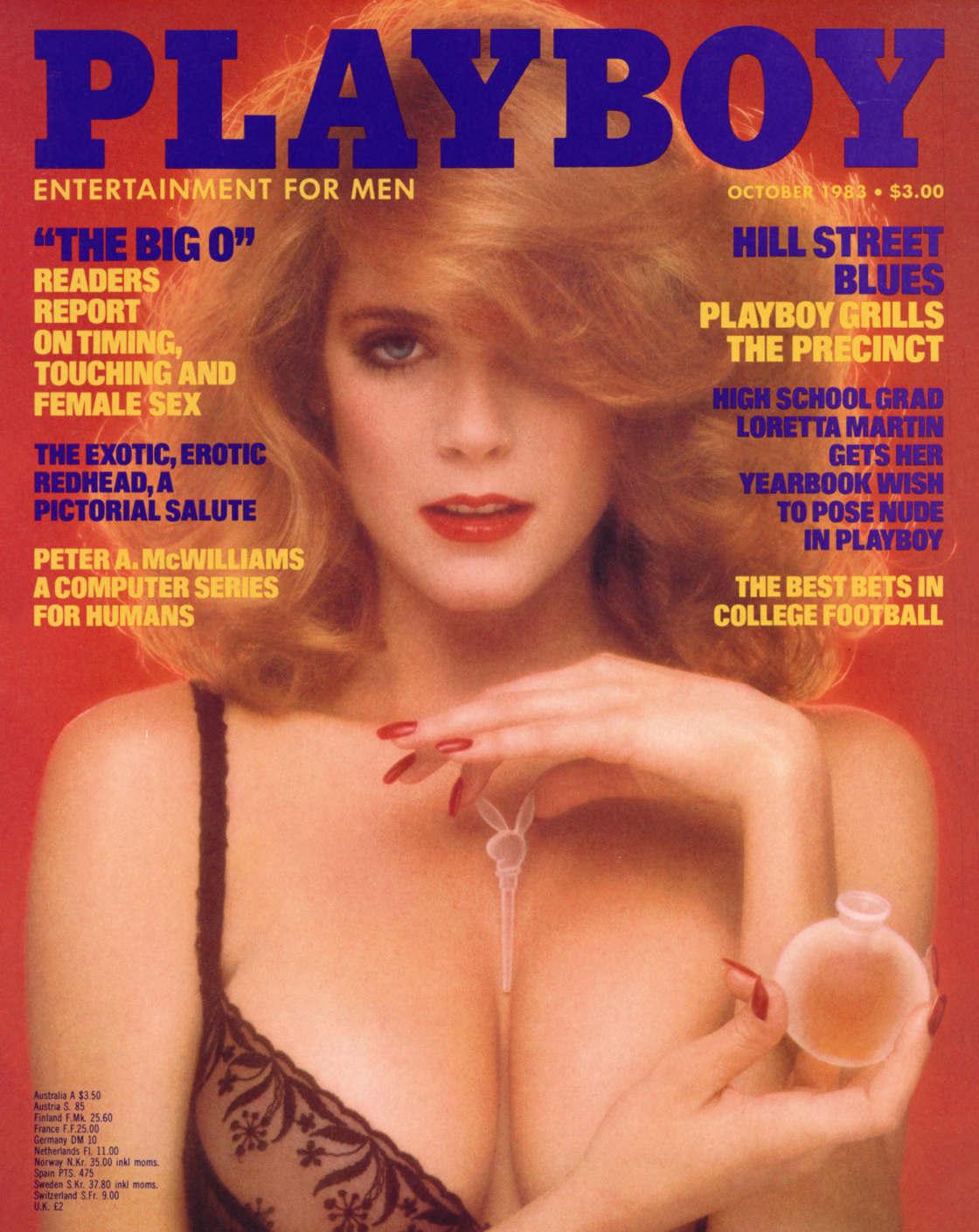 CHARLOTTE KEMP - Playmate 1982