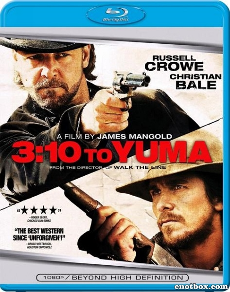 Поезд на Юму / 3:10 to Yuma (2007/BDRip/HDRip)