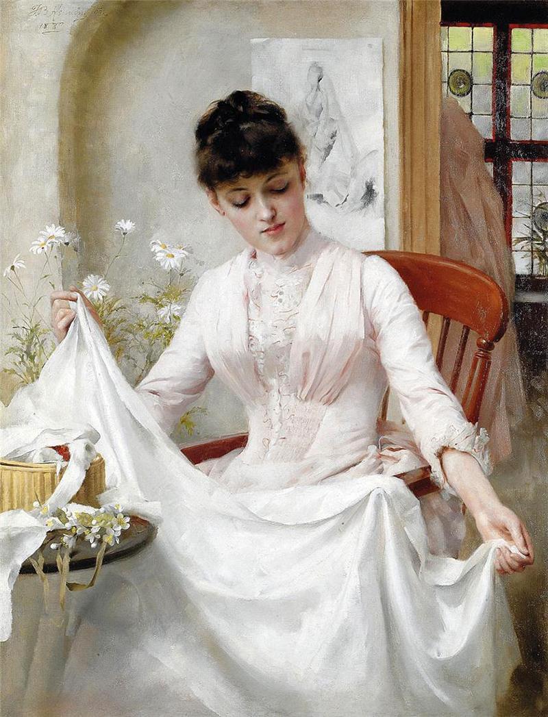 Девушки 19 века фото картинки