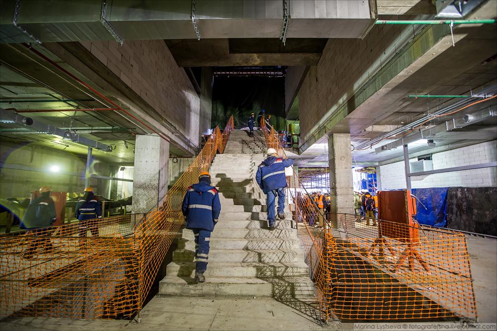 Ольга+Марина: тоннели под ВПП Шереметьево