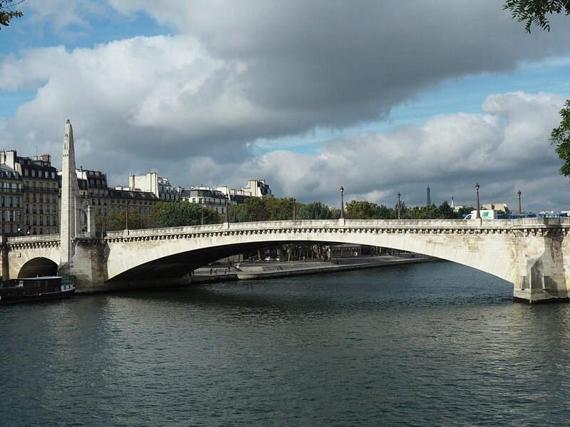 Париж, мост Турнель (Paris, pont de la Tournelle)