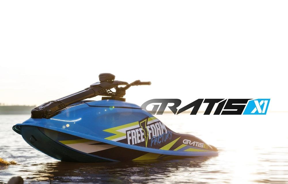 Электрический гидроцикл Free Form Factory Gratis X1