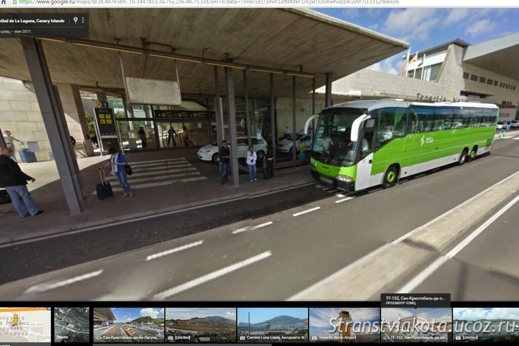 автобус 343 на Тенерифе