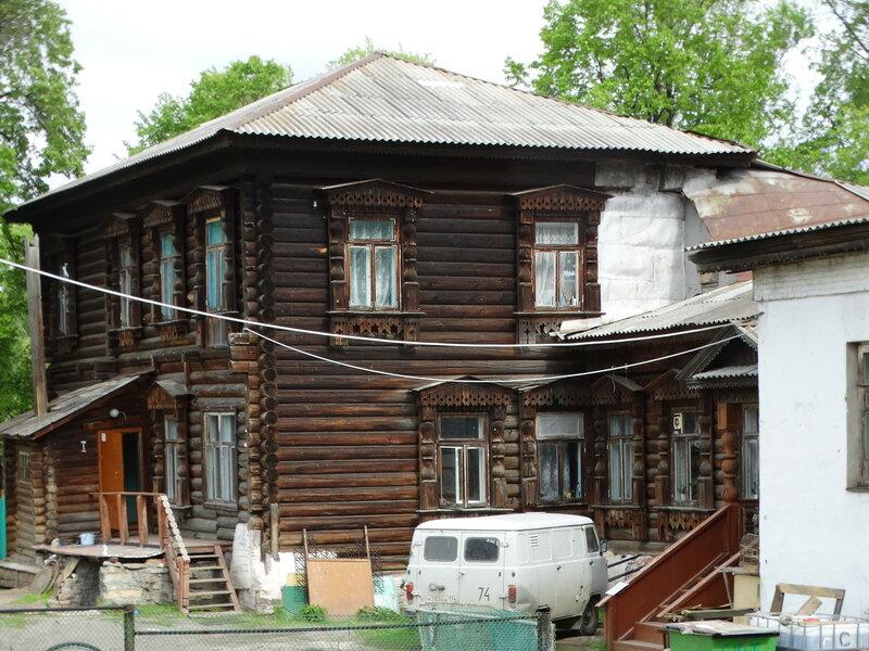 Дом Дружинина в Кыштыме