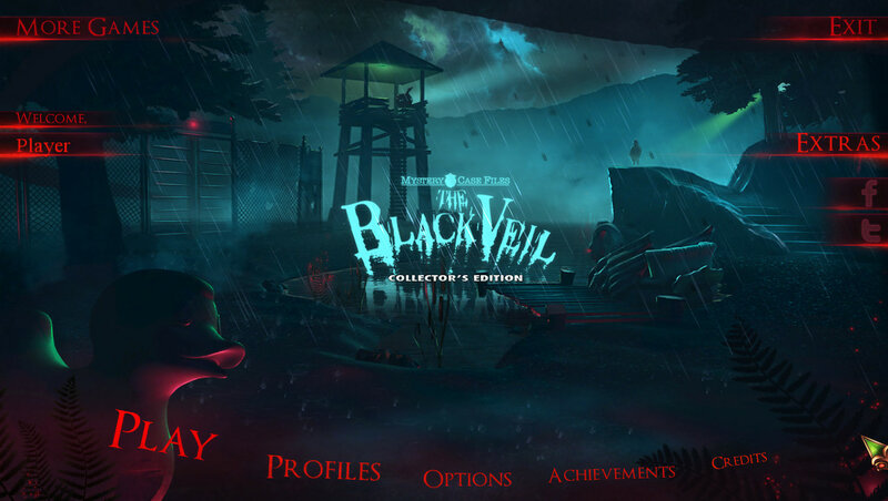 Mystery Case Files 15: The Black Veil CE
