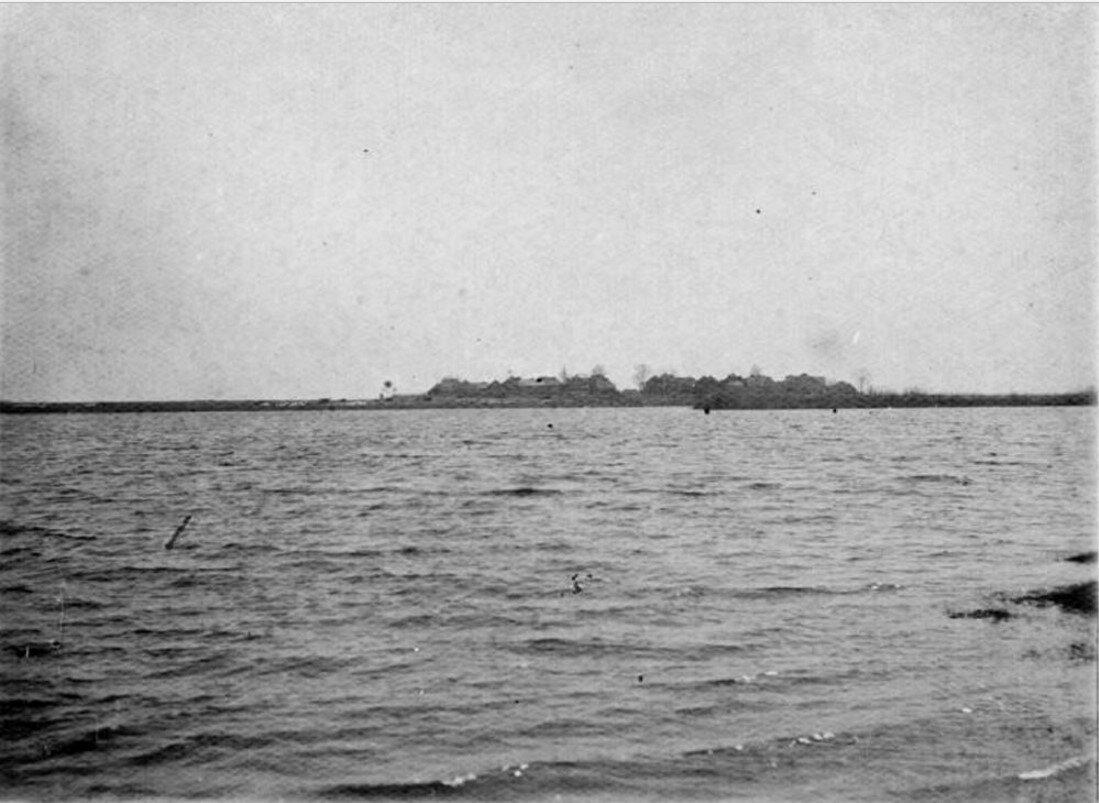 Затопление деревни Согда