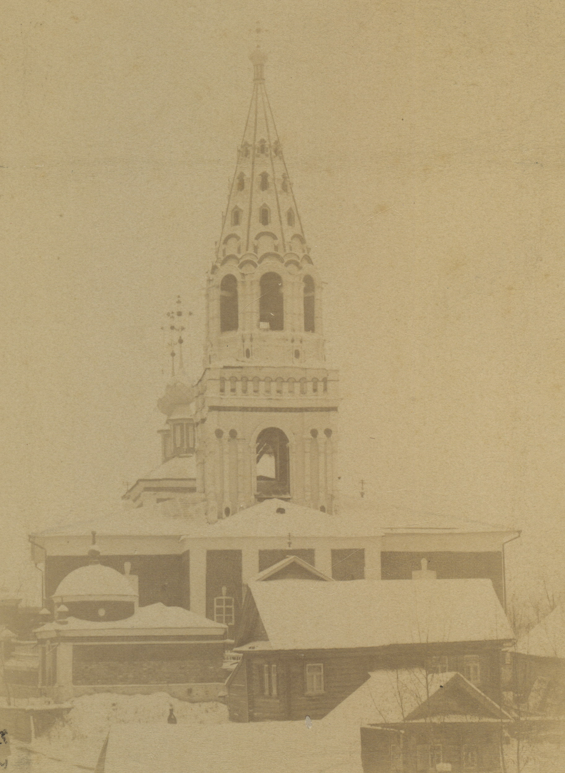 Окрестности Мурома. Церковь в селе Арефино (Зяблицкий погост). 1890 – 1900