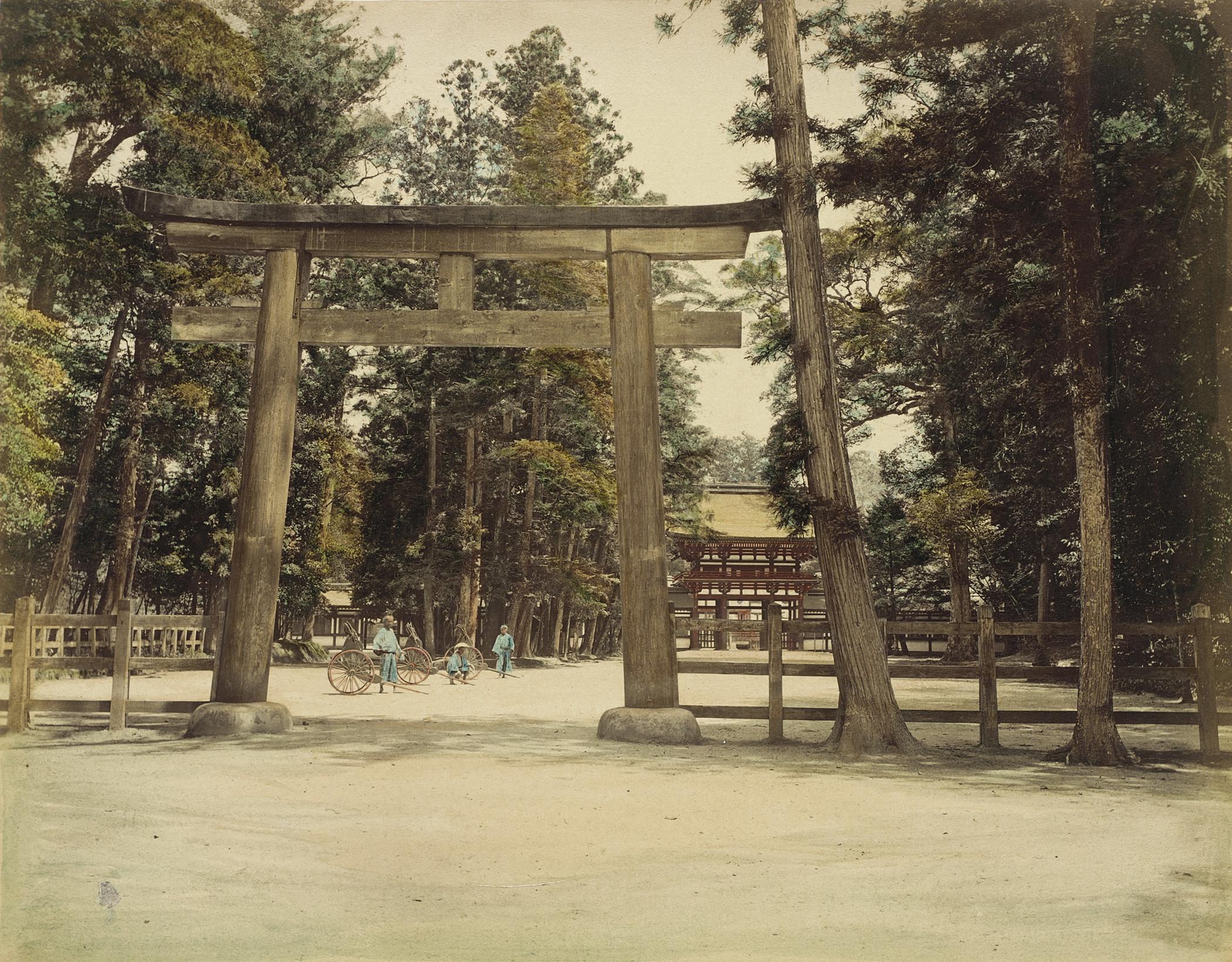 Киото. Храм Симо-Камо-но-дзиндзя