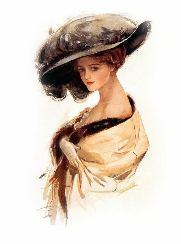 9. Харрисон Фишер (Harrison Fisher)  1875 - 1934