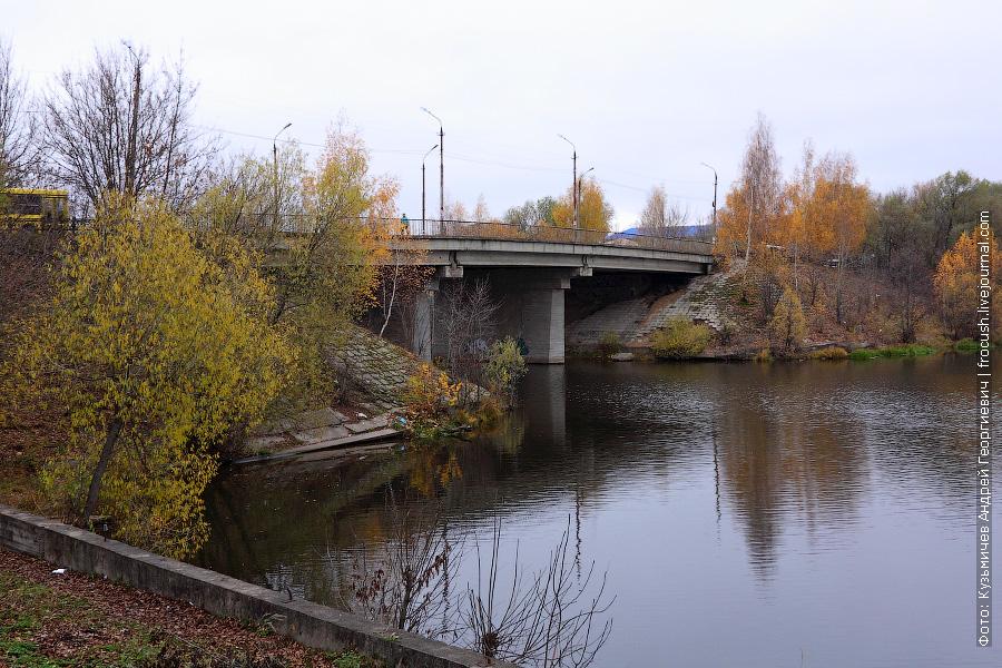 Автомобильный мост через реку Кимрку