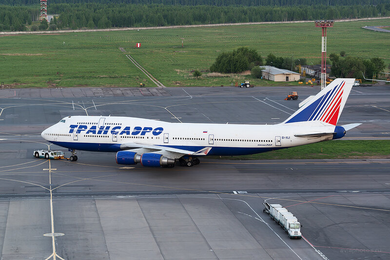 Boeing 747-446 (EI-XLI) Трансаэро D804789