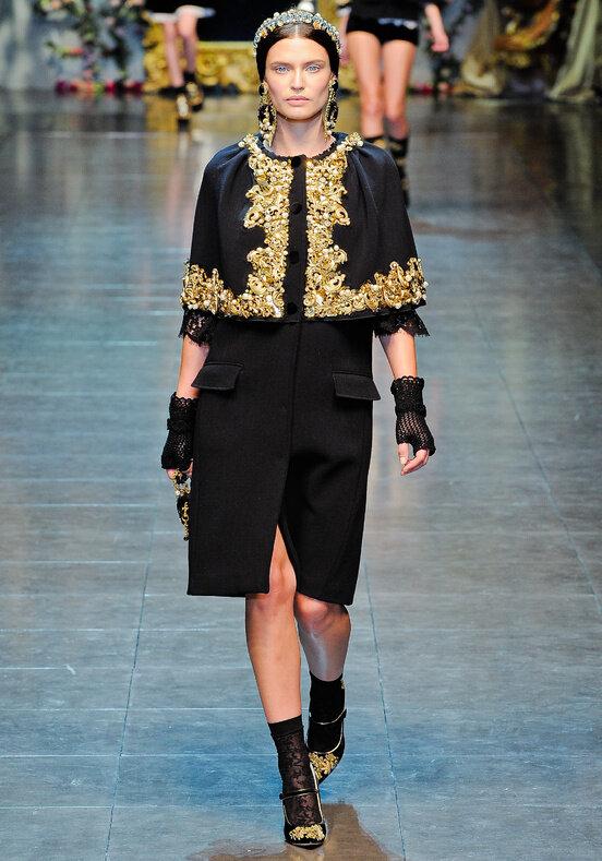 Осень-зима 12-13 Милан Ready-To-Wear Dolce & Gabbana.