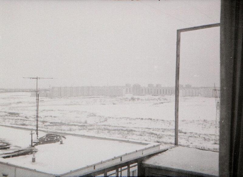 Чертаново из дома 26-1 по Балаклавскому проспекту 1972