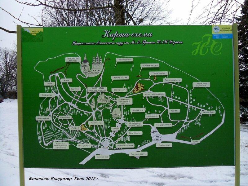 Довелось мне в этом году побывать в Киевском ботаническом саду.  Поразил не только его масштаб, но и деление на...