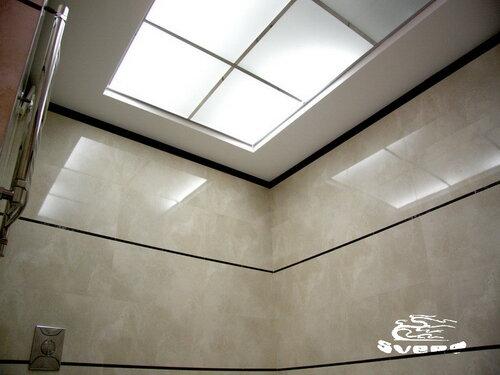 030. ванная комната, полочный светильник