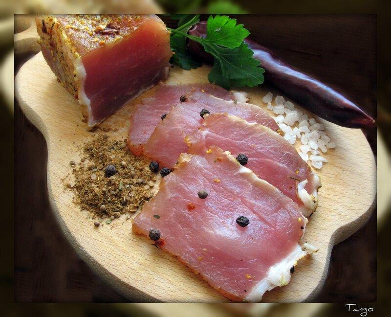 Домашнее сыро-вяленое мясо