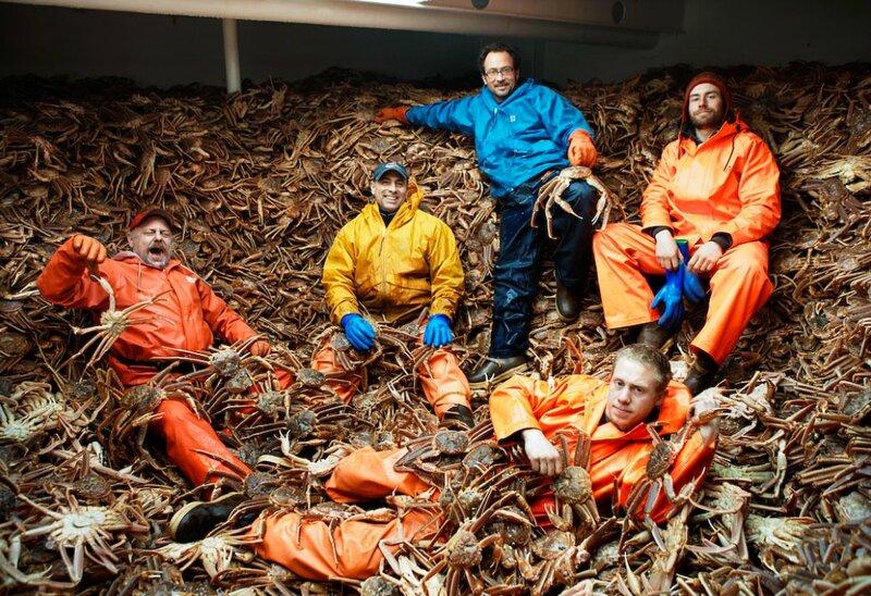 когда осень ловли крабов во  баренцевом море