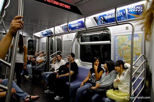 нью-йорк, метро